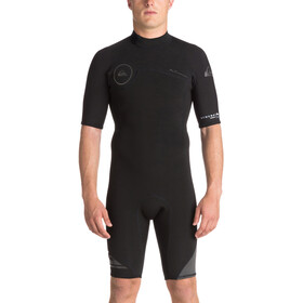 Quiksilver 2/2mm Syncro Series SS Back Zip FLT Springsuit Men, black/black/jet black